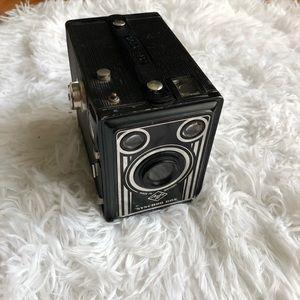 Vintage  sychro  box camera  made from germany
